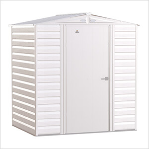 Select 6 x 5 ft. Storage Shed in Flute Grey