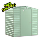 Arrow Sheds Select 6 x 5 ft. Storage Shed in Sage Green