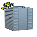 Arrow Sheds Select 6 x 7 ft. Storage Shed in Blue Grey