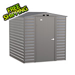 Arrow Sheds Select 6 x 7 ft. Storage Shed in Charcoal