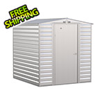 Arrow Sheds Select 6 x 7 ft. Storage Shed in Flute Grey