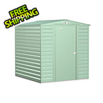 Arrow Sheds Select 6 x 7 ft. Storage Shed in Sage Green