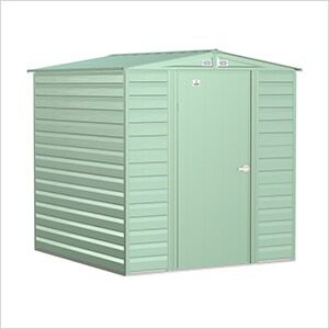 Select 6 x 7 ft. Storage Shed in Sage Green