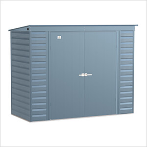 Select 8 x 4 ft. Storage Shed in Blue Grey