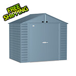 Arrow Sheds Select 8 x 6 ft. Storage Shed in Blue Grey