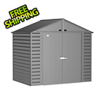 Arrow Sheds Select 8 x 6 ft. Storage Shed in Charcoal