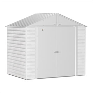 Select 8 x 6 ft. Storage Shed in Flute Grey