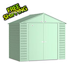 Arrow Sheds Select 8 x 6 ft. Storage Shed in Sage Green