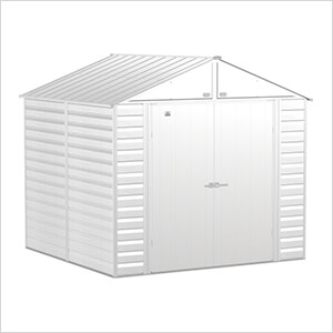 Select 8 x 8 ft. Storage Shed in Flute Grey