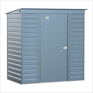 Select 6 x 4 ft. Storage Shed in Blue Grey