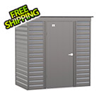 Arrow Sheds Select 6 x 4 ft. Storage Shed in Charcoal