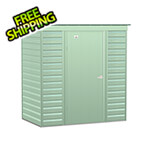 Arrow Sheds Select 6 x 4 ft. Storage Shed in Sage Green