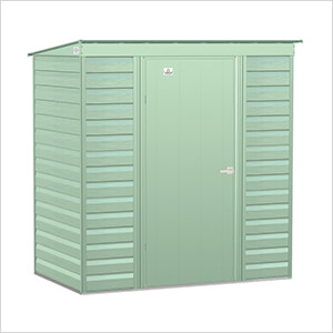 Select 6 x 4 ft. Storage Shed in Sage Green