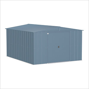 Classic 10 x 12 ft. Storage Shed in Blue Grey