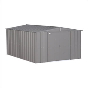 Classic 10 x 14 ft. Storage Shed in Charcoal