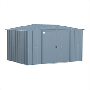 Classic 10 x 8 ft. Storage Shed in Blue Grey