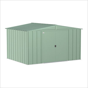 Classic 10 x 8 ft. Storage Shed in Sage Green