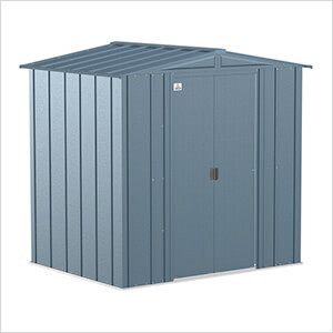 Classic 6 x 5 ft. Storage Shed in Blue Grey