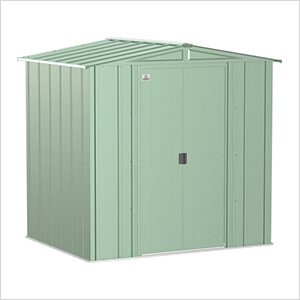 Classic 6 x 5 ft. Storage Shed in Sage Green