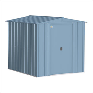 Classic 6 x 7 ft. Storage Shed in Blue Grey