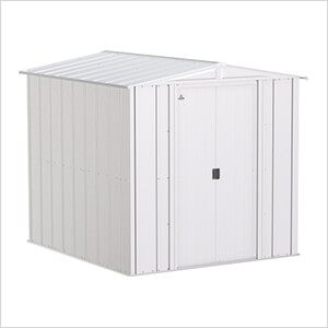 Classic 6 x 7 ft. Storage Shed in Flute Grey