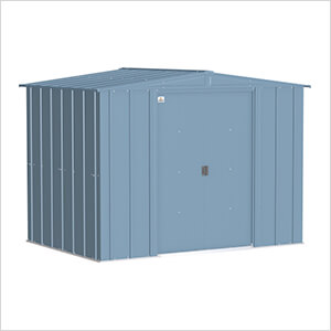Classic 8 x 6 ft. Storage Shed in Blue Grey