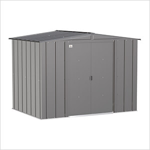 Classic 8 x 6 ft. Storage Shed in Charcoal