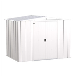 Classic 8 x 6 ft. Storage Shed in Flute Grey
