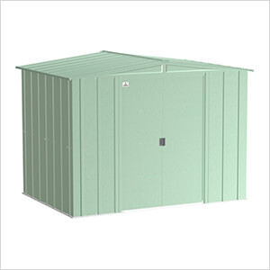 Classic 8 x 6 ft. Storage Shed in Sage Green