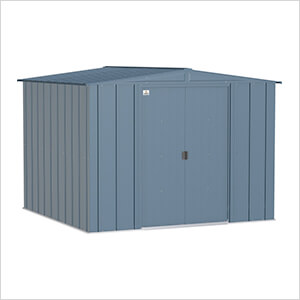 Classic 8 x 8 ft. Storage Shed in Blue Grey