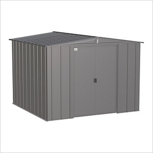 Classic 8 x 8 ft. Storage Shed in Charcoal