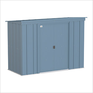 Classic 8 x 4 ft. Storage Shed in Blue Grey