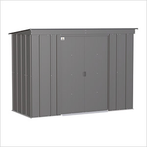 Classic 8 x 4 ft. Storage Shed in Charcoal