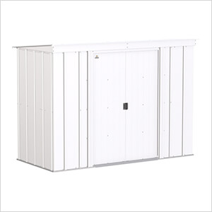 Classic 8 x 4 ft. Storage Shed in Flute Grey