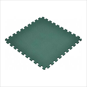 Dark Green Interlocking Foam Flooring (6-Pack)