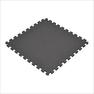 Black Interlocking Foam Flooring (6-Pack)