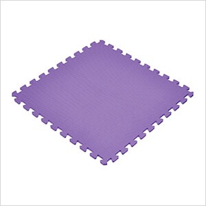 Purple Interlocking Foam Flooring (6-Pack)