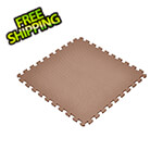 Norsk-Stor Brown Interlocking Foam Flooring (6-Pack)