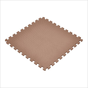 Brown Interlocking Foam Flooring (6-Pack)