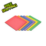 Norsk-Stor Rainbow Interlocking Foam Flooring (6-Pack)