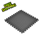 Norsk-Stor Black Interlocking Foam Flooring (6-Pack)