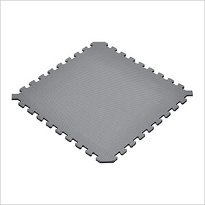Truly Reversible Black and Grey Interlocking Foam Flooring (6-Pack)