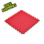 Norsk-Stor Truly Reversible Black and Red Interlocking Foam Flooring (4-Pack)