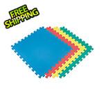 Norsk-Stor Multi-Color Interlocking Foam Flooring (4-Pack)