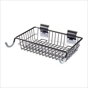 Slatwall Bike Hook and Basket Combo