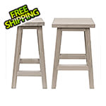 Yardistry Madison Outdoor Bar Stools (2-Pack)
