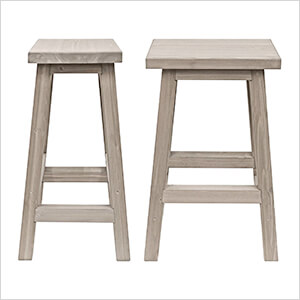 Madison Outdoor Bar Stools (2-Pack)