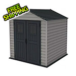 DuraMax StoreMax Plus 7' x 7' Vinyl Shed with Floor