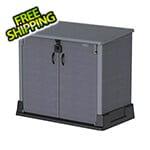 DuraMax Storeaway 850L Resin Horizontal Storage Shed - Grey