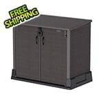 DuraMax Storeaway 850L Resin Horizontal Storage Shed - Brown
